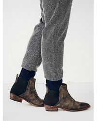 Free People Dark Horse Ankle Boot - Lyst