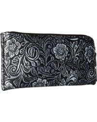 STS Ranchwear - Sts Floral Embossed Clutch/wallet - Lyst