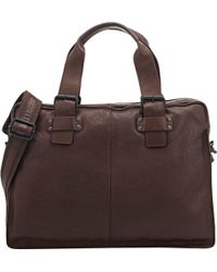 Barneys New York - Three-compartment Briefcase - Lyst