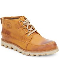 Sorel Mad Desert Ii Leather Boots - Lyst