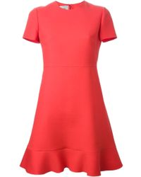 Valentino Crepe Couture Dress - Lyst