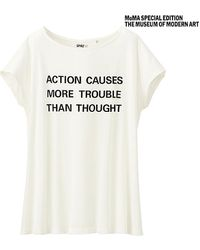 Uniqlo Sprz Ny Short Sleeve Graphic T-shirtjenny Holzer - Lyst