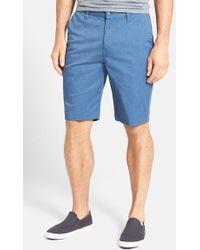 Volcom Modern Stretch Shorts blue - Lyst