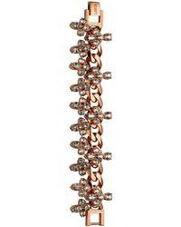 Mawi Crystal Blossom Bracelet - Lyst