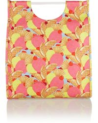Charlotte Olympia Shopper Printed Canvas Tote - Lyst