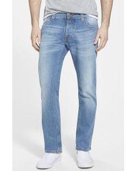 Nudie Jeans 'Grim Tim' Slim Fit Jeans - Lyst