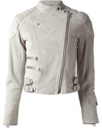 Acne Studios Moi Biker Jacket - Lyst