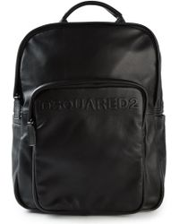 DSquared² Logo Embossed Backpack - Lyst