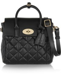 Mulberry - + Cara Delevigne Mini Quilted Leather Backpack - Lyst
