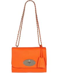 Mulberry Lily Classic Grain Cross Body Bag - Lyst