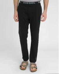 Diesel Black Massy J Pyjama Trousers black - Lyst