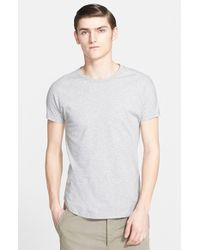 Helmut Lang Men'S 'Base Jersey' Colorblock T-Shirt - Lyst