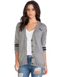 Obey Howell Sweater Cardigan - Lyst