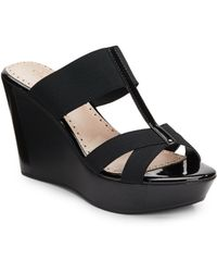 Charles By Charles David Flexi Platform Wedges - Lyst