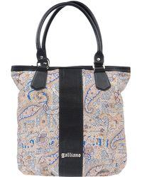 John Galliano Blue Handbag - Lyst