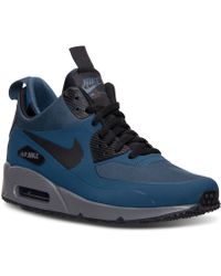 27e8cf259cd48 ... netherlands nike mens air max 90 mid winter casual sneakers from finish  line lyst fb603 c34f8