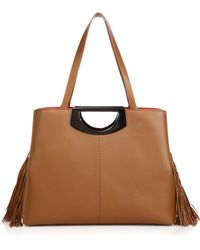 Christian Louboutin Passage Leather Shopping Tote brown - Lyst