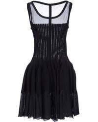 Alaïa Short Dress - Lyst