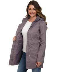 The North Face Gray Laney Trench - Lyst