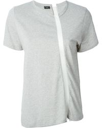 Joseph Contrasting Stripe T-Shirt - Lyst