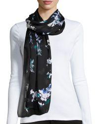 Proenza Schouler - Floral-print Silk Scarf - Lyst