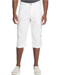 Inc International Concepts White Wallace Shorts - Lyst