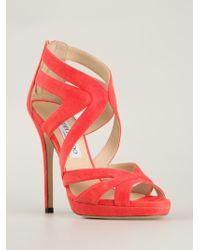 Jimmy Choo 'Sue' Sandals - Lyst