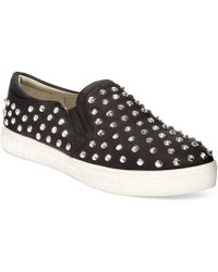 Circus By Sam Edelman Carlson Studded Slip On Sneakers - Lyst