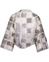 Fernanda Yamamoto - Printed Bolero Jacket - Lyst