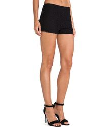 Boulee Black Tommy Shorts - Lyst