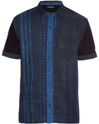 Longjourney - Vintage Short-sleeved Cotton Shirt - Lyst