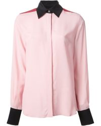 Jonathan Saunders Bailey Contrasting Collar Shirt - Lyst
