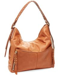 Cole Haan Felicity Leather Hobo - Lyst