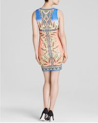 Peach Puff - Dress - Sleeveless Print - Lyst