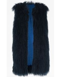 French Connection | Chicago Faux Fur Gilet | Lyst
