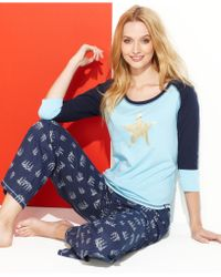 Tommy Hilfiger Top and Pajama Pants Gift Set - Lyst