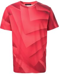 Christopher Kane Pages Print T-shirt - Lyst