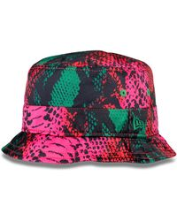 House of Holland - Pink Snake Bucket Hat - Lyst