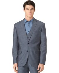 Calvin Klein Fine Slub Jacket - Lyst