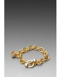 Juicy Couture - Pave Icon Bracelet - Lyst