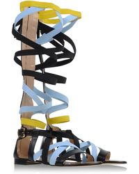 MSGM Sandals black - Lyst