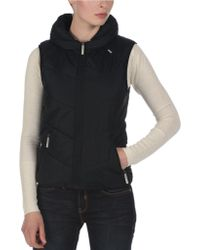 Bench - Hooded Puffer Vest - Lyst