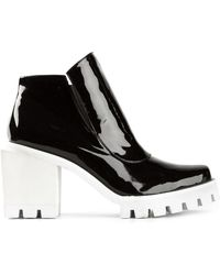 Jamie Wei Huang - Ridged Sole Chunky Heel Boots - Lyst