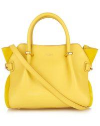 Nina Ricci Le Marché Mini Leather Shoulder Bag - Lyst