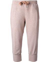 Adidas By Stella Mccartney Essentials Track Pants - Lyst