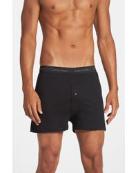 Calvin Klein Cotton Boxers, (3-Pack) - Lyst