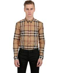 Burberry Brit Classic Check Cotton Poplin Shirt - Lyst