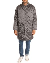 Our Legacy Taupe Nylon Waterproof Jacket beige - Lyst