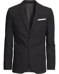 H&M Jacket In A Wool Blend - Lyst