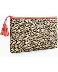 Violeta by Mango   Tassel Ethnic Cosmetic Bag   Lyst
